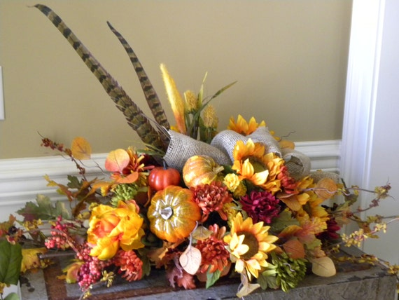 fall mantle arrangement photography - photo #8