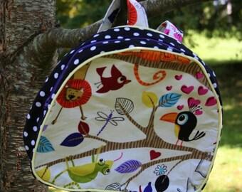 Toddler Preschool Backpack PDF PATTERN Instant Download