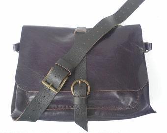 Women Messenger Bag,Work Messenger Bag,Custom Messenger Bag,Mens Messenger Bag,Many Pockets Messenger Bag,Large Messenger Bag,Purple bag