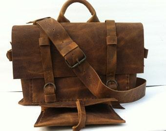 Leather Messenger Bag,Women Leather Bag Purse,Handmade Leather Handbag,Women Briefcase Bag