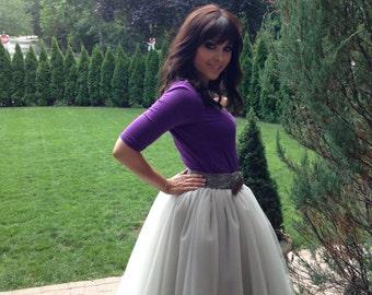 Custom Homemade Ladies Tulle Skirt