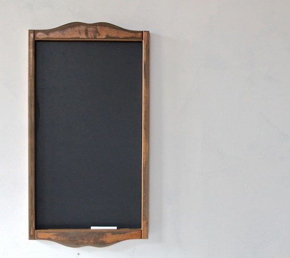 Framed Chalkboard Kitchen Menu Chalkboard Rustic Modern
