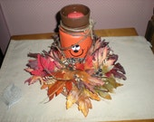 Fall Pumpkin Jar Candle SALE!!! PRICE REDUCED!!