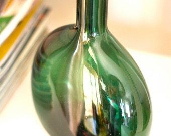 Dark Green Vintage Bottle