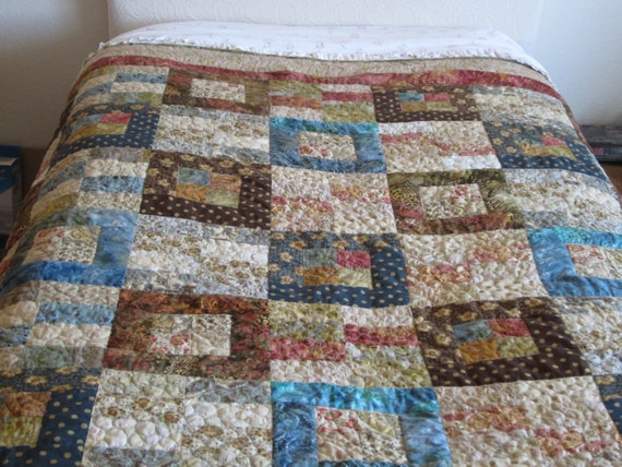 Items Similar To Pdf Pattern Jelly Roll Quilt With