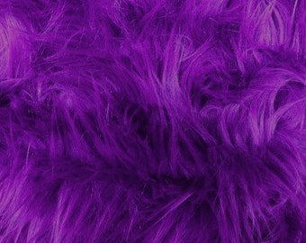 Half Yard Purple Shag