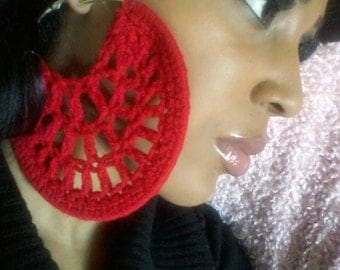 Big Mama Crochet Hoops