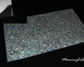 Paua Sparkle Coated Enhanced Adhesive Veneer Sheet (Mother of Pearl MOP Shell Overlay Inlay Luthier Nacre)