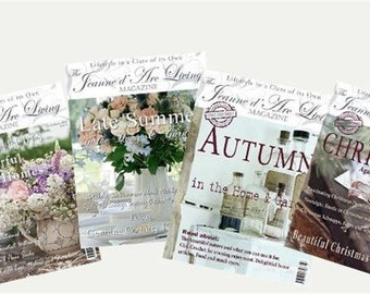 12  month Subscription  2016 ~ to this fabulous magazine let us take care of it for you.  Delivered every month to your door step.