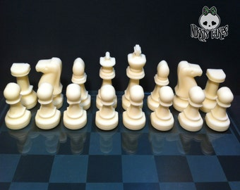 Chocolate Chess Set. Full set- 32 pieces of solid chocolate.