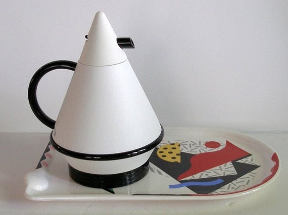vintage 1980 39 s thermique carafe thermos k shigeto by. Black Bedroom Furniture Sets. Home Design Ideas