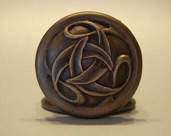 Artistic bronze keepsake birth wedding anniversary commemorative D024