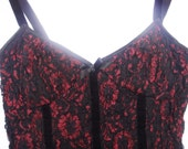 Vintage Early 90's Corset Top