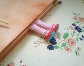 Amigurumi Legs Bookmark Crochet - pattern pdf 24 - Permission to Sell Finished Items