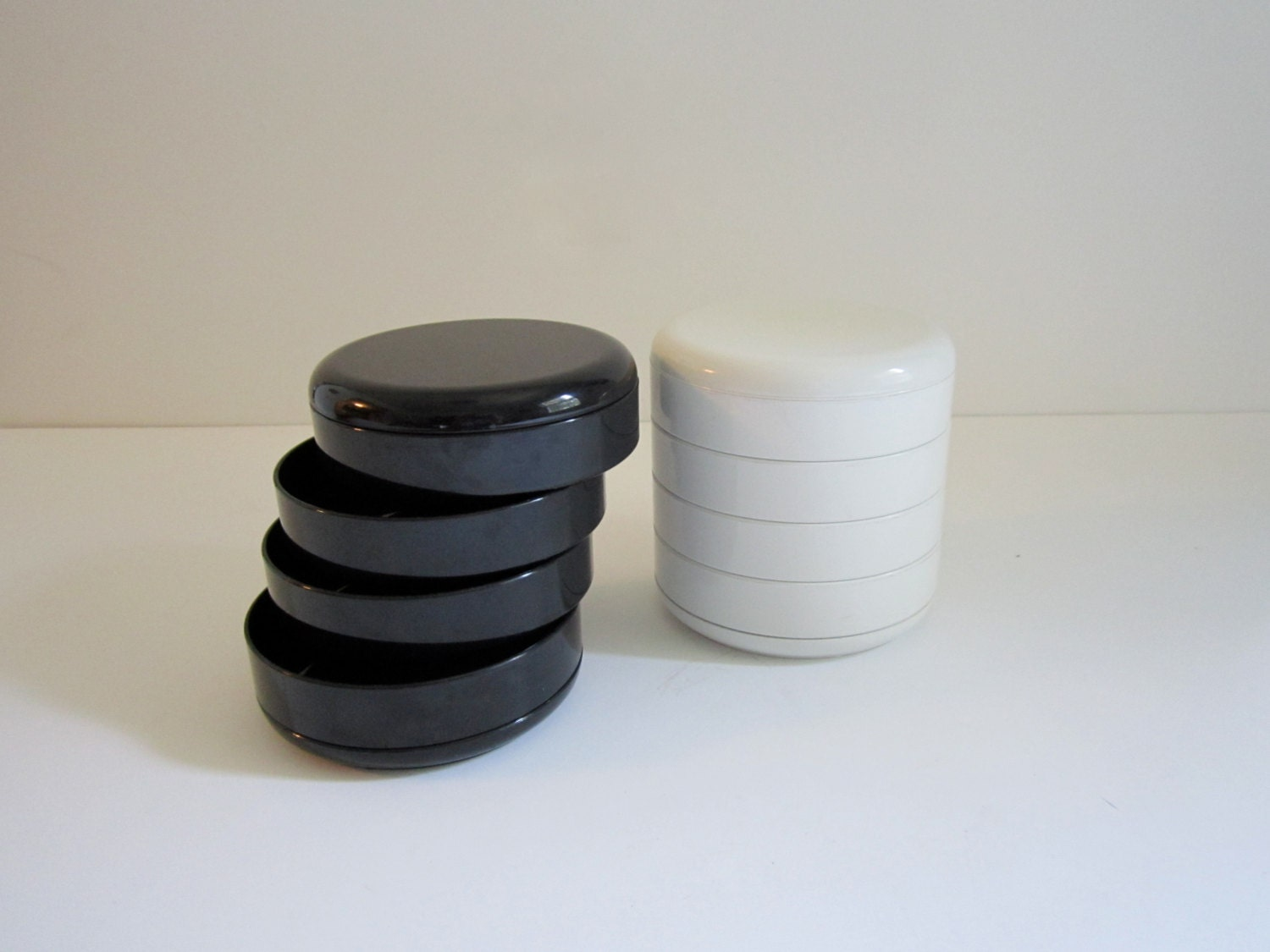 rotating desk organizer rino pirovano by 20thcenturygoods on etsy
