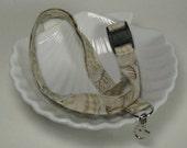 Nautical Sea Shell Lanyard, badge reel or stethoscope clip