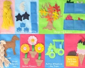 Customize Your Own Quiet Book with 6 activities