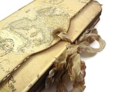 Europe Travel Journal, Vintage Style, Travel Log, Map  Diary, London - Paris - Venice - Rome, Vacation, MADE TO ORDER