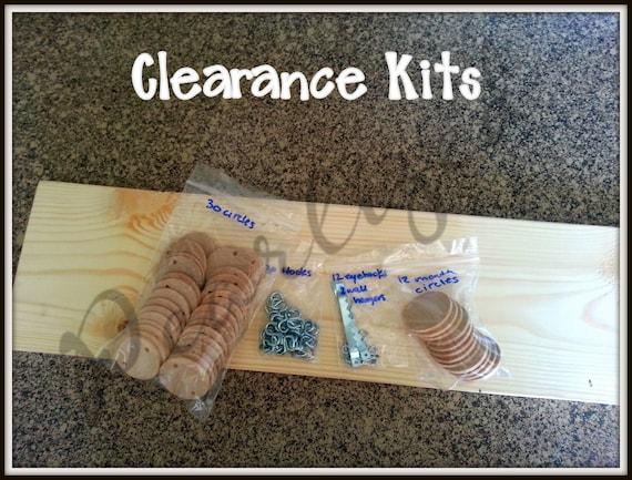 READY TO SHIP - Birthday Board Kits
