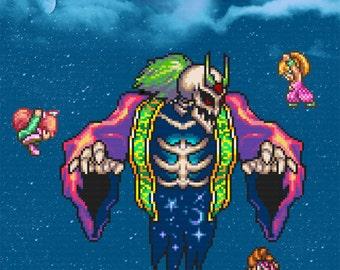 Secret of Mana Art - Digital Art Print - Super Nintendo Tribute
