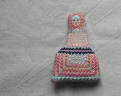 Handmade fabric embroidered doll - ESZTERDA Bambino