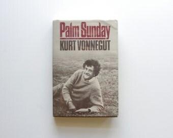 Kurt Vonnegut - Palm Sunday - Hard Cover