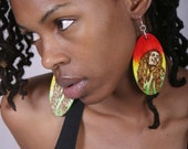 Bob Marley Bright and Bold Earrings