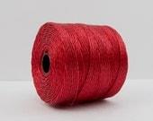 S-Lon Beading Thread 77 Yards Shanghai Red #45-8194