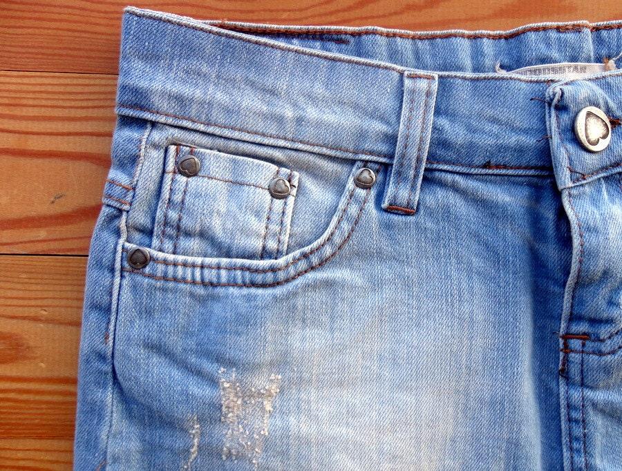 denim skirt blue jean skirt micro mini skirt jean skirt