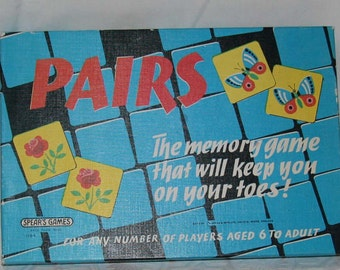 Vintage Game Spear's Pairs from the 1960's Made in England