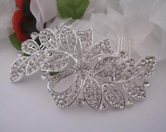Bridal hair comb hair accessory Bridal hair comb Headpiece Bridal hair comb Hair jewelry Bridal hair comb vintage Wedding hair comb