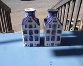 Salt Box Houses Candle Holders