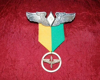 Steampunk Medal - Airship Pilot