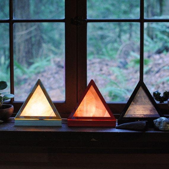Pyramid Lamp The Main Message Table Lamp By