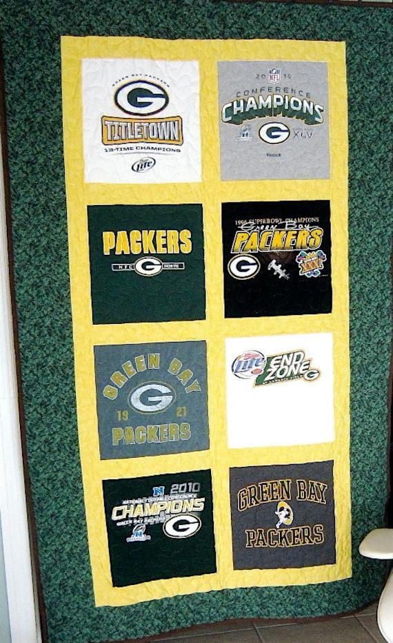 Green Bay Packer Quilt Nfc North Champions Green Bay Packer T