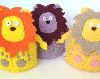 Brave Lion Plush Wool Felt
