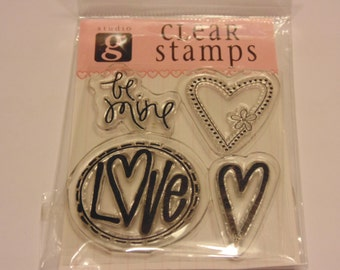 be mine clear stamp set, 25-40 mm