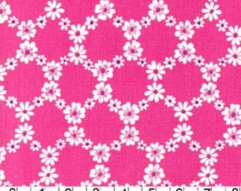 Michael Miller fabric Pink JEMIMA FLORAL