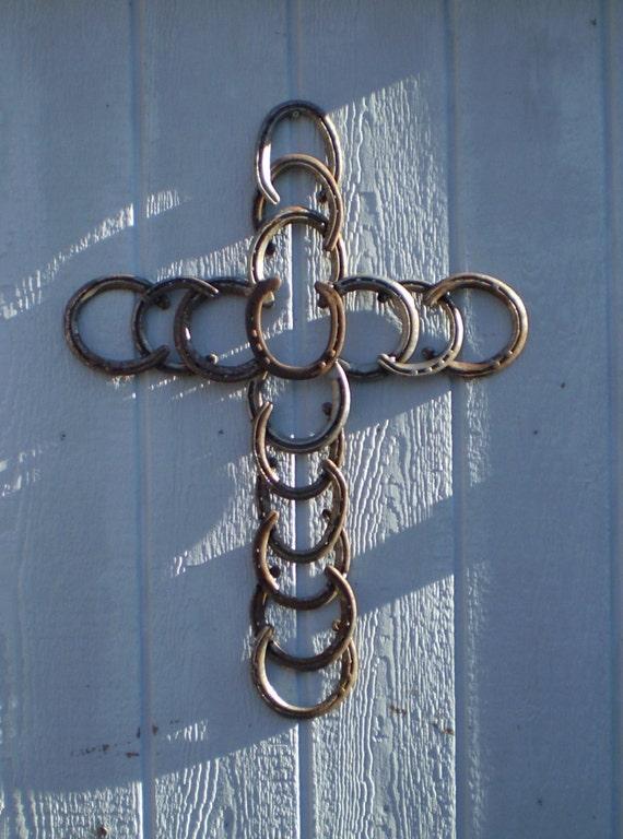 Cross Christmas Rustic Decor Cowgirl Cowboy Western Decor