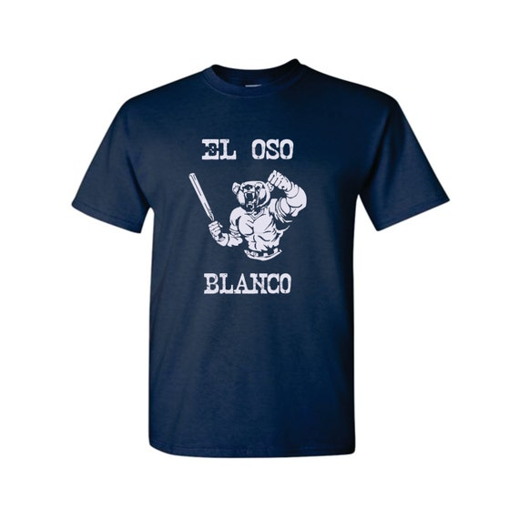 Items similar to El Oso Blanco - Mens Graphic Tee in S, M ...