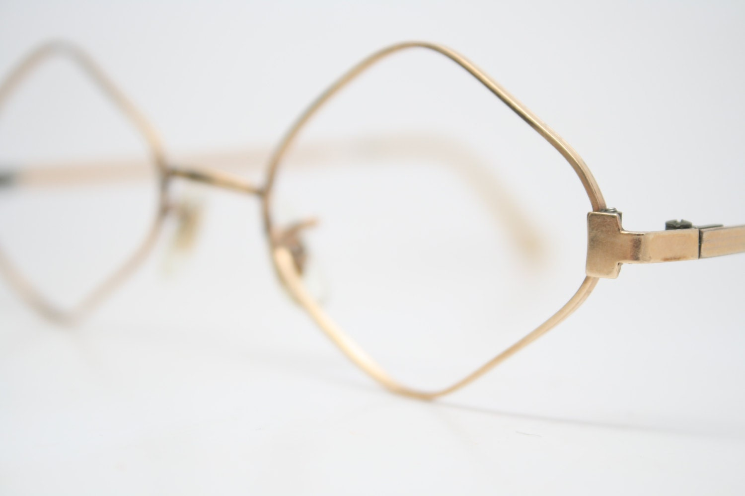 vintage shaped glasses frames 1 20 12k gold vintage