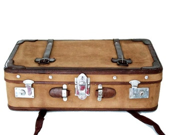 Leather Trimmed Luggage