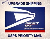 Priority Mail Upgrade - Shipping Within the U.S.A.