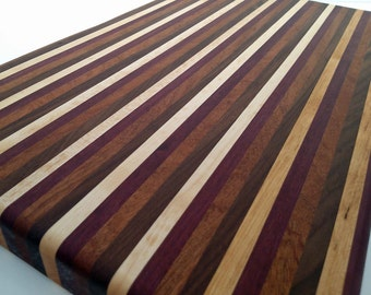 5th Wedding Anniversary Wood Cutting Board
