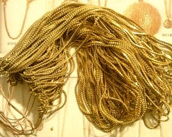 "6 Brass 16"" Chains"