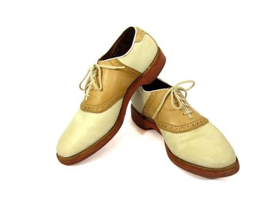 SALE Vintage Allen Edmonds Saddle Shoes By IvyVintageCompany