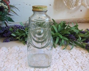 1 Vintage Grapette Clown Bank Bottle with Original Slotted Lid  B27
