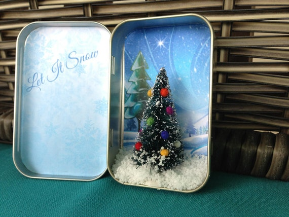Items Similar To Pocket Christmas Miniature Christmas