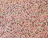 Pink Butterfly  Cotton Fabric