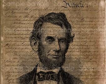 Primitive Constitution Abe Abraham Lincoln Feedsack Logo Pantry Jar Crate Crock book Jpeg Image